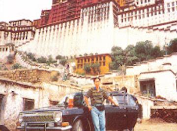 Master TYN In Potala Palace
