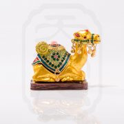 Bejewelled Camel Statue-9763