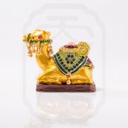 Bejewelled Camel Statue-9765