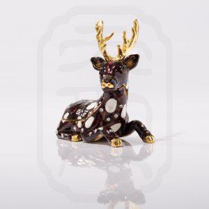 Lucky Deer Statue--3