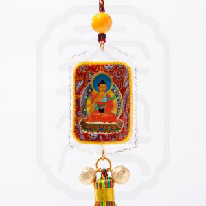 Buddha Card with Tassel--2